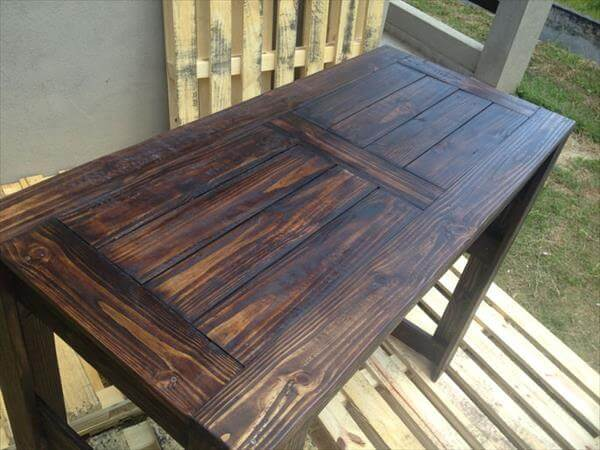 Handmade Pallet Table For Various Uses 99 Pallets