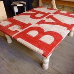 DIY Painted Pallet Coffee Table Tutorial