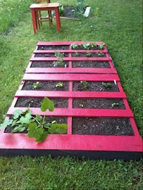 Diy Pallet Gardens 20 Creative Ways To Use Pallets 99