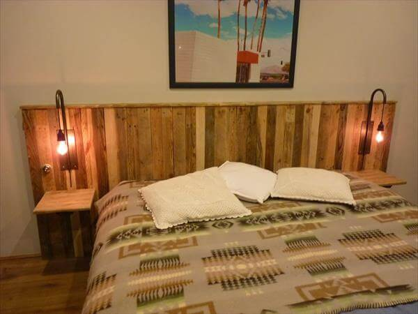 Pallet headboard tutorial for How to make a headboard out of pallets