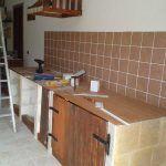 Pallet Kitchen Cabinet and Storage Rack