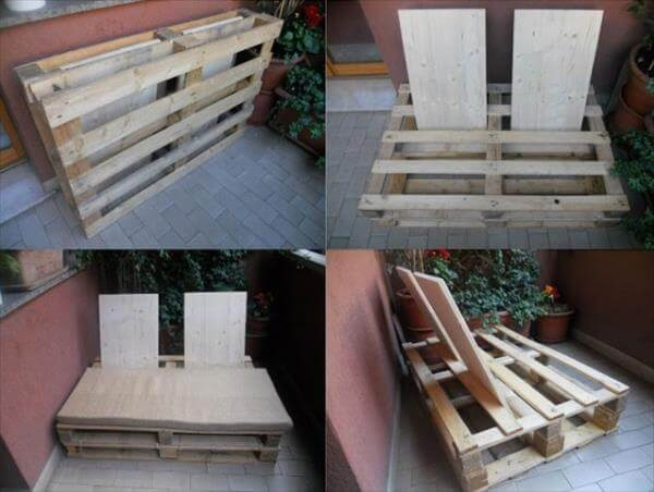 recycled pallet sofa tutorial
