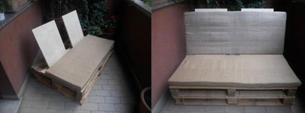 diy reclaimed pallet sofa