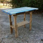DIY Pallet Table by Elle Goggans