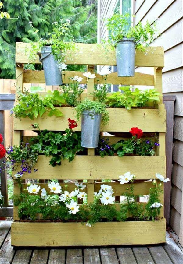 free pallet vertical planter