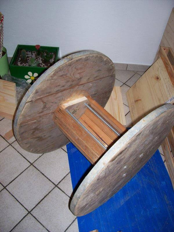 DIY Wire Roll Chair | 99 Pallets