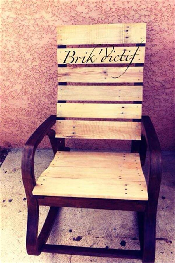 Chic Pallet Chair