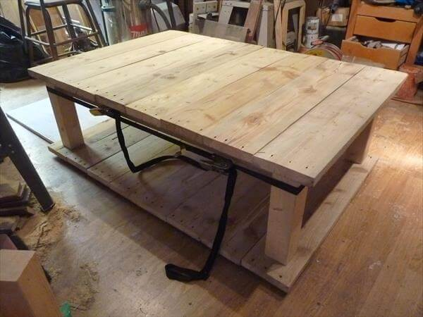 How To Make Your Own Wood Coffee Table 99 Pallets