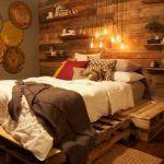 DIY Pallet Bedroom Project Tutorial