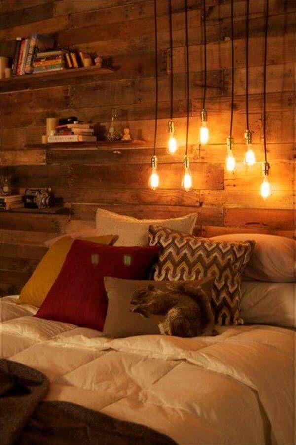 DIY Pallet Bedroom Project Tutorial   99 Pallets on Pallet Bedroom  id=14470