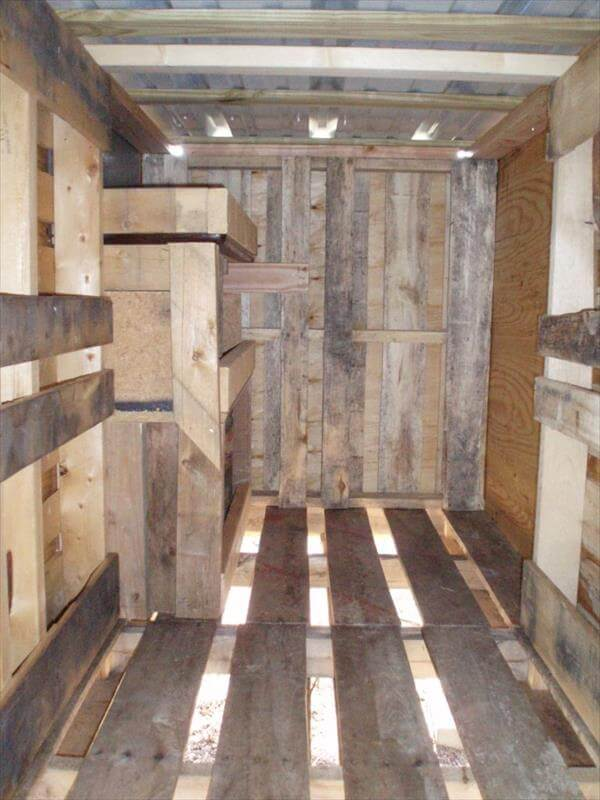 Diy Pallet Chicken Coop Tutorial 99 Pallets