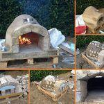 DIY Pallet Outdoor Pizza Oven