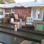 DIY Pallet Deck : Home Exterior Improvements