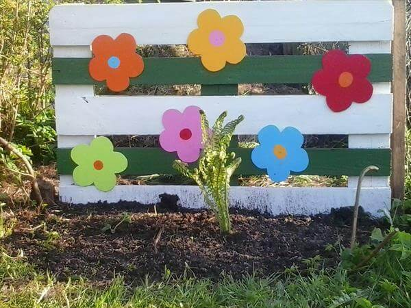recycled pallet wooden art