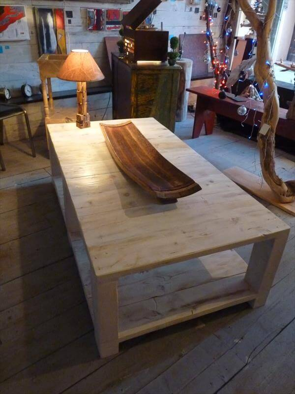 DIY Pallet Vintage Coffee Table – How to Make Your Own Coffee Table
