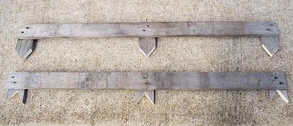 DIY Pallet Garden Bed Edging | 99 Pallets
