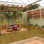DIY Pallet Garden Decoration and Ideas