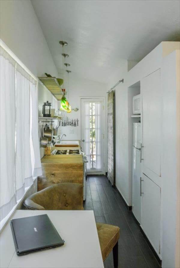 white chic pallet house interior