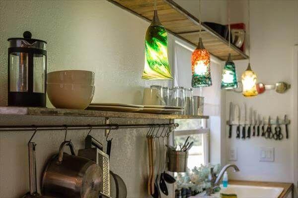 pallet kitchen idea for pallet house
