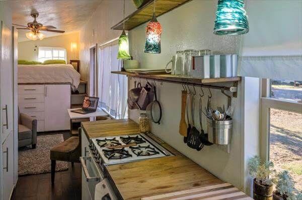 salvaged pallet house kitchen