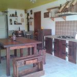 Recycled Pallet Kitchen