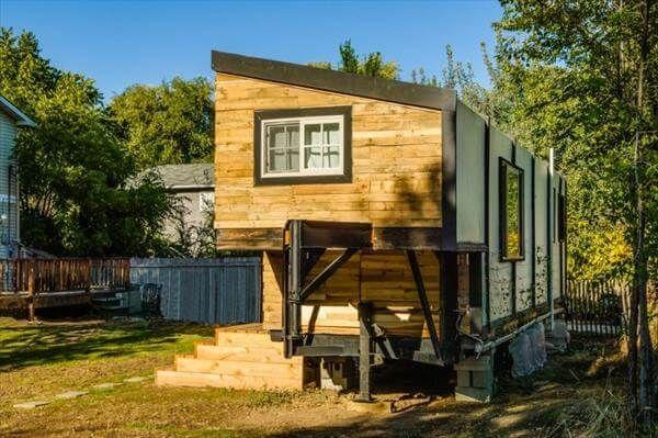 diy pallet outdoor house