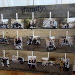 DIY Pallet Picture Display Frame