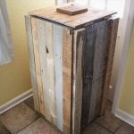 DIY Pallet Recycle Bin Makeover