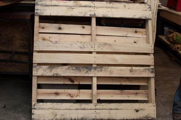 rustic pallet board