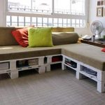 DIY Pallet Sectional Sofa for Living Room