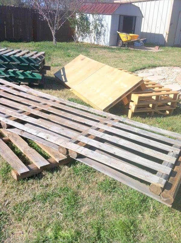 rustic pallet wood