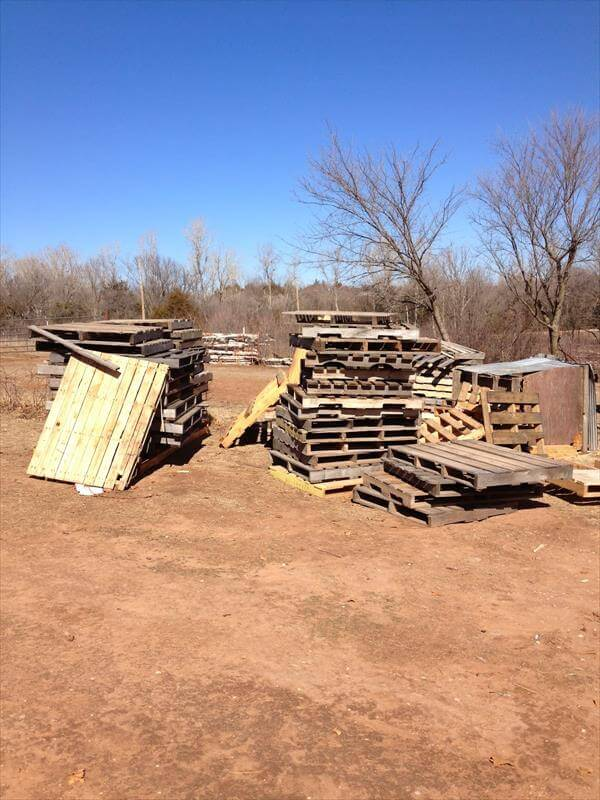 pallet wood skids and boards