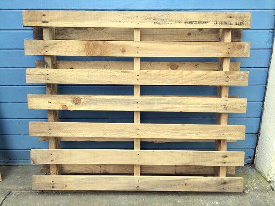 pallet wood sanding
