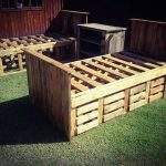 DIY Pallet Beds with Storage