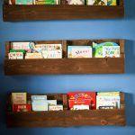 Wooden Pallet Bookshelves Tutorial