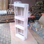 Pallet Bookshelf for Bedroom
