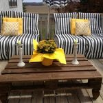 DIY Cozy Pallet Patio Furniture Instructions