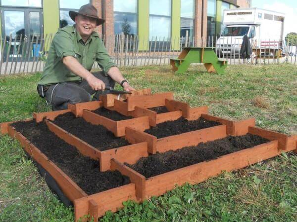 Garden Design Garden Design with How To Start A Raised Bed