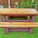 Pallet Picnic Table for Garden