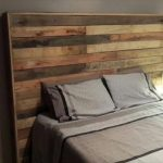 Upcycled Furniture: DIY Pallet Headboard