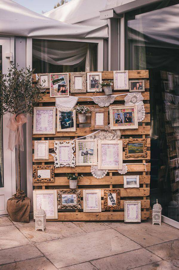 10 diy pallet sign ideas for wedding 99 pallets - Pinterest deco vintage ...