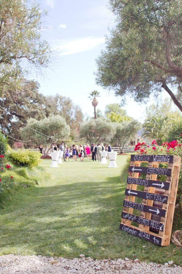 10 diy pallet sign ideas for wedding 99 pallets