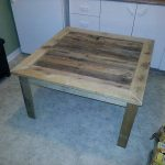 Rustic Table Made from Pallets