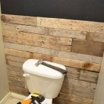 DIY Tutorial: Pallet Bathroom Wall