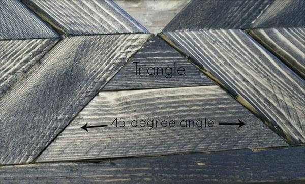 fixing of mid pallet triangle