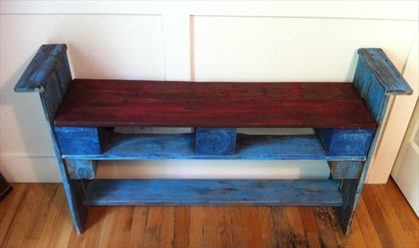DIY Wooden Pallet Benches Design | 99 Pallets