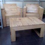 DIY Pallet Bistro Styled Furniture