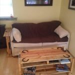 Horse Theme Pallet Coffee Table – Side Table