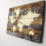 How To Make Pallet Wood Map