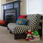 Pallet Sofa with Cushion: DIY Tutorial